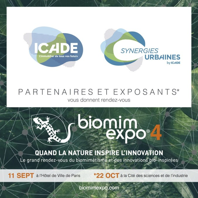 Icade partenaire du BIOMIMEXPO 2019