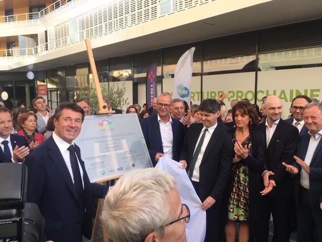 Inauguration des Résidences Gare du Sud à Nice