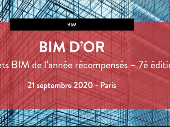 Concours 2020 BIM D'OR : 2 projets Icade nominés.