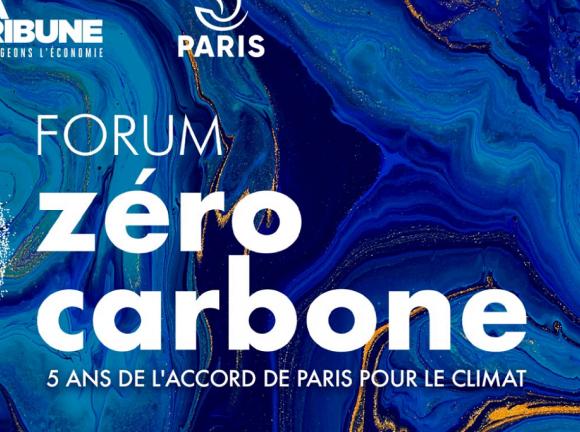 Forum Zéro Carbone les 10 et 11 décembre 2020 à Paris avec la participation d'Icade