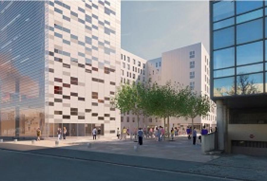 Car Ivry - Ivry-sur-Seine - Architects : RRC Architectes / Pierre Raoux Architecte