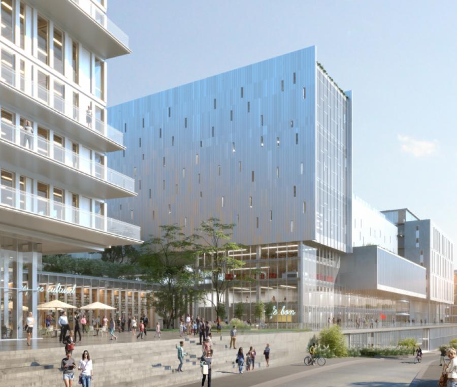 Quai Bercy - Paris (12ème) - Architectes : Marc Mimram et ENIA Architecte