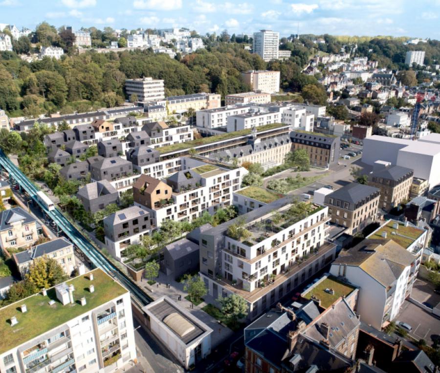 Site Flaubert de l'appel à projet Réinventer Le Havre