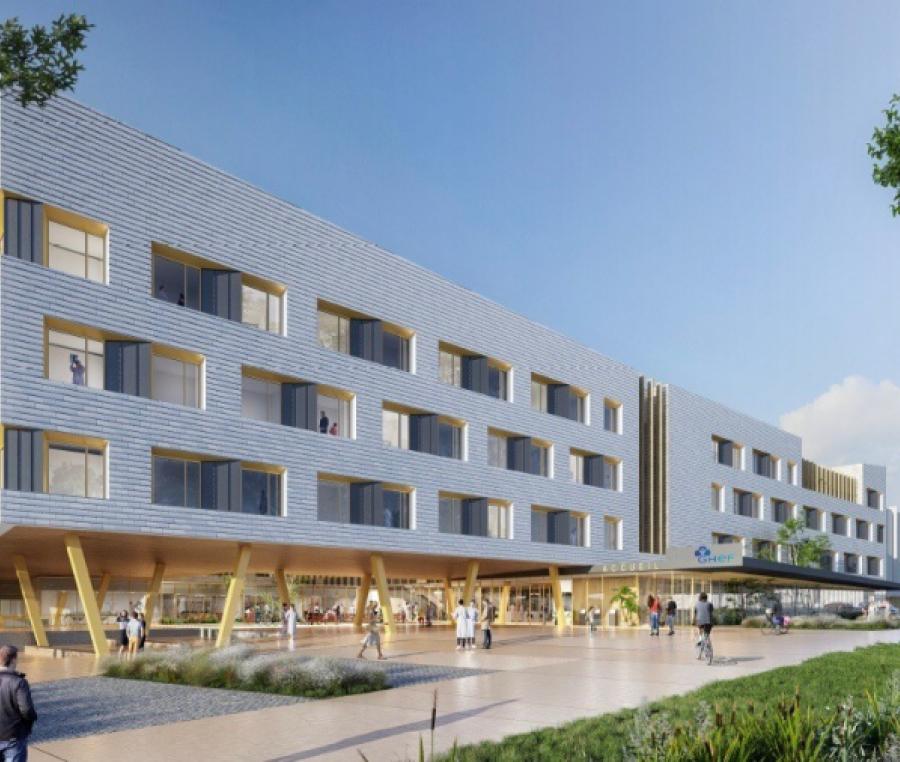 Construction et réhabilitation du site hospitalier de Meaux Saint-Faron