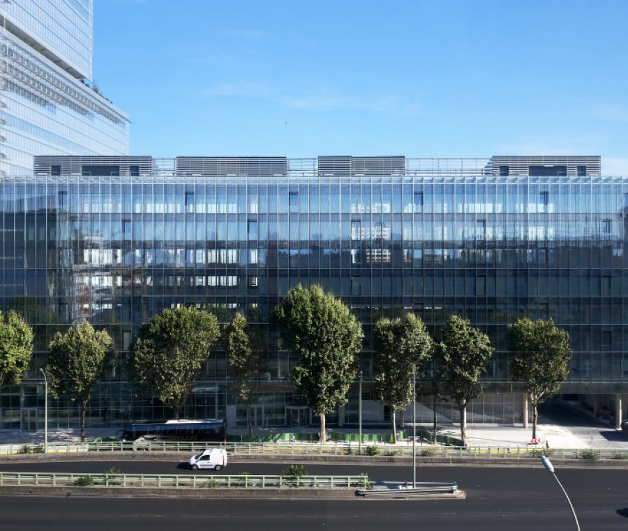 Le Thémis, bureaux à Paris 17ème, proche du nouveau Tribunal de Grande Instance de Paris.