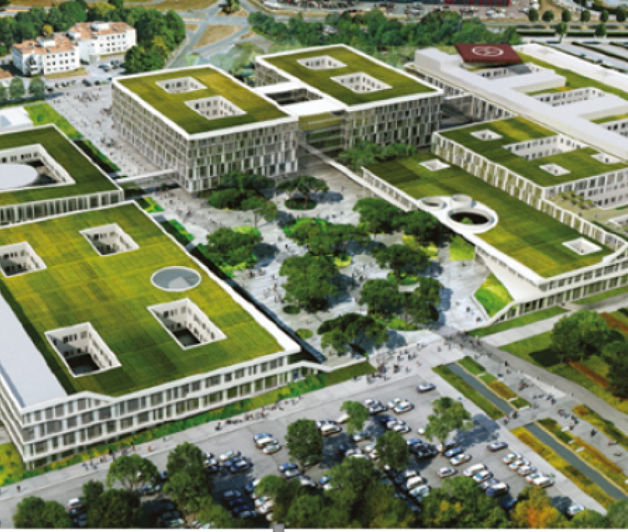 Construction du nouveau CHU de Caen (14)