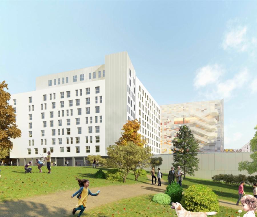 Carivry - Ivry-sur-Seine - Architectes : RRC Architectes / Pierre Raoux Architecte