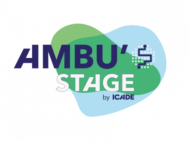 Logo Ambu'Stage by Icade