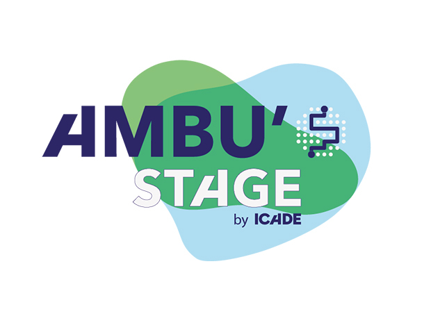 Logo Ambu'Stage by Icade
